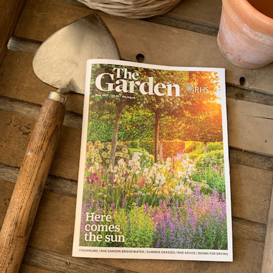The Royal Horticultural Society magazine 'The Garden' (May 2021)